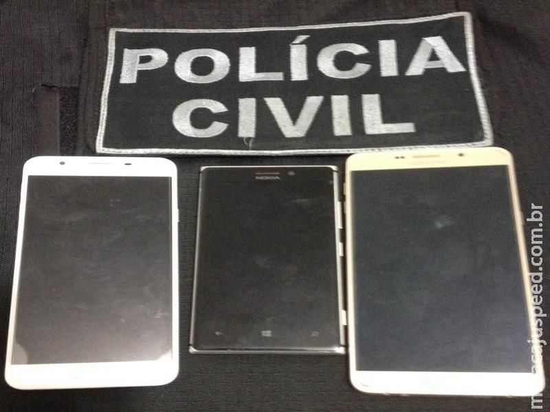 Polícia Civil de Maracaju deflagra operação de combate ao furto e roubo de celulares