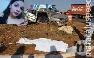 Jovem morre em acidente entre Peugeot e Ford Ranger na BR-060