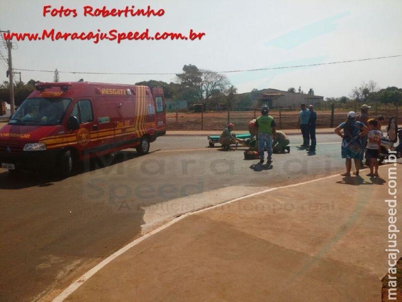 Maracaju: Extensão da antiga Rua Noroeste registra o primeiro acidente