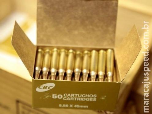 MS pode pagar R$ 44,1 milhões a empresa por munições para polícias