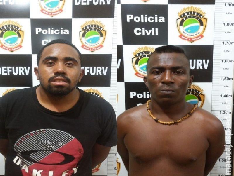 """Polícia Civil de Maracaju prende quadrilha especializada em """"falso frete"""""""
