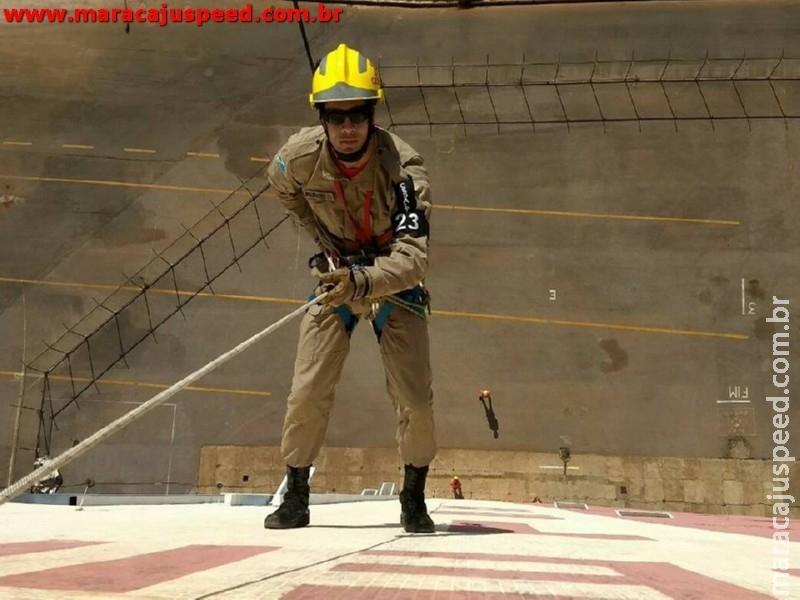 Marcaju: Soldado fica em primeiro lugar em curso de Especialização em Salvamento em Altura