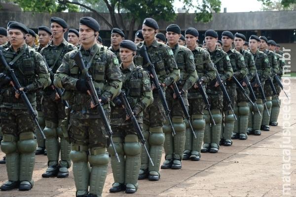 Exército treina 3,4 mil militares no sul de MS para uso do Sisfron