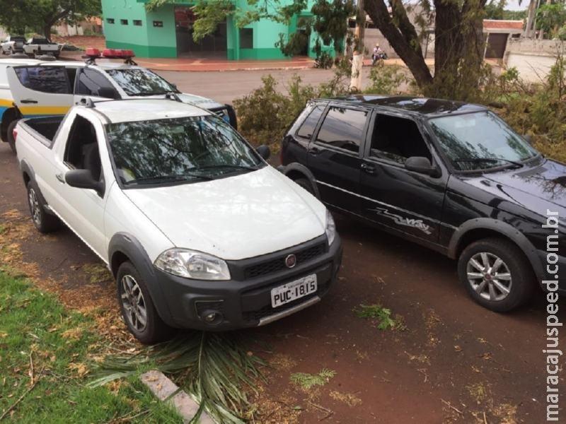 Maracaju: PRE BOP Vista Alegre apreende dois veículos com sinal de identificador adulterados