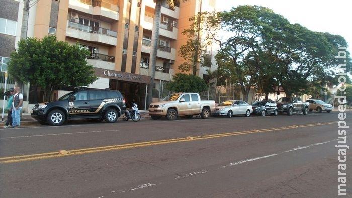 AGORA: PF e Receita cumprem mandados contra políticos e empresários em MS