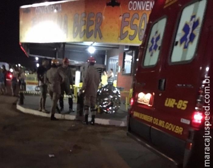 Homem é executado com dois tiros na cabeça em frente a bar