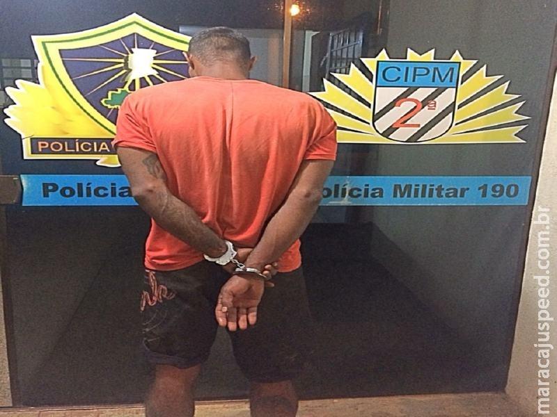 Maracaju: Polícia Militar cumpre mandado de prisão na Vila Juquita