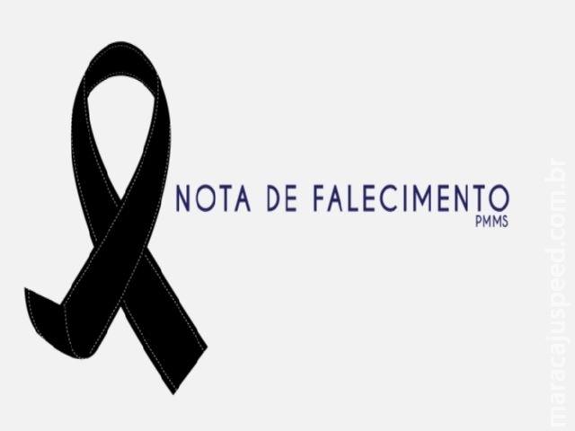 Nota de Falecimento - (Mãe do comandante da PM de Maracaju)