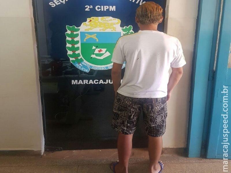 Polícia Militar de Maracaju apreende adolescente por prática de Ato Infracional de tentativa de homicídio