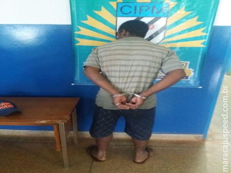Polícia Militar de Nova Alvorada do Sul cumpre mandado prisão durante ocorrência de lesão corporal