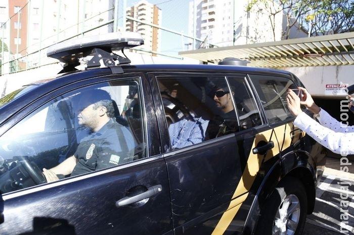 Puccinelli é levado para Polícia Federal e habeas corpus já está pronto, diz advogado