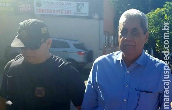 Puccinelli e Puccinelli Jr. são alvo de prisões preventivas pedidas pela PF