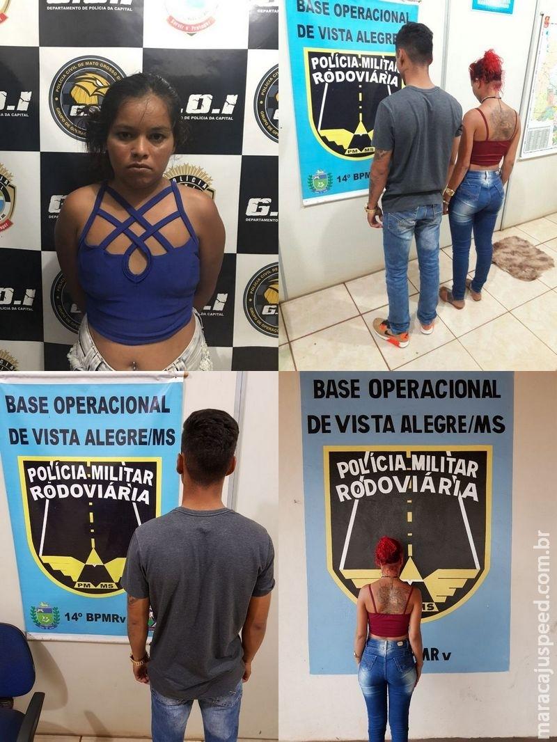 "SIG de Maracaju e GOI/DPC prende integrante de quadrilha que aplicou ""Boa Noite Cinderela"""