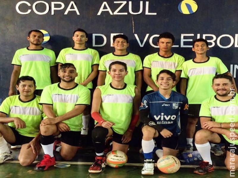 Time vôlei de Maracaju se destaca em Campeonatos Regionais