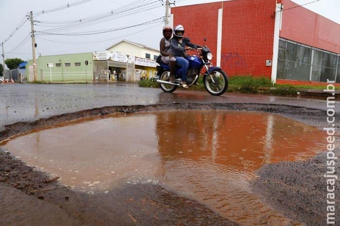 ATENÇÃO: Leitores listam 10 buracos mais perigosos de Campo Grande