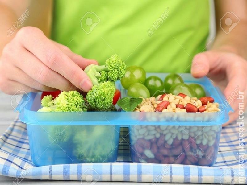 Confira como preparar uma marmita rápida e saudável