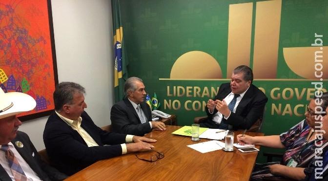 Ministro diz que recuperação do rio Taquari começa em março de 2018