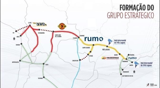 Projeto de ferrovia que vai ligar MS à Bolívia será apresentado nesta terça