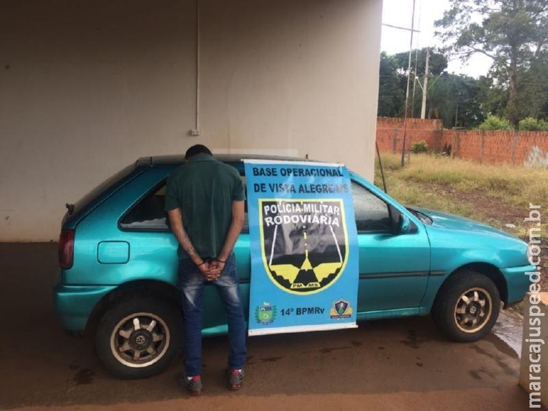 Maracaju: BOP PRE Vista Alegre recupera veículo furtado e prende homem por receptação