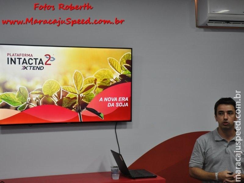 Maracaju: Monsanto apresentou na manhã de ontem (18) no Showtec 2018 a próxima tecnologia em soja para o Brasil