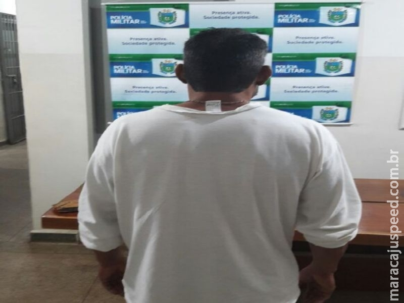 Maracaju: PM cumpre mandado de prisão na região central
