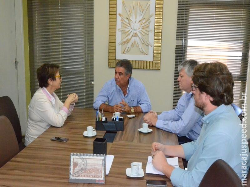 Os trabalhos  de bastidores realizados em Brasília pelo Secretário de Governo Frederico Felilni, garantem recursos para Maracaju