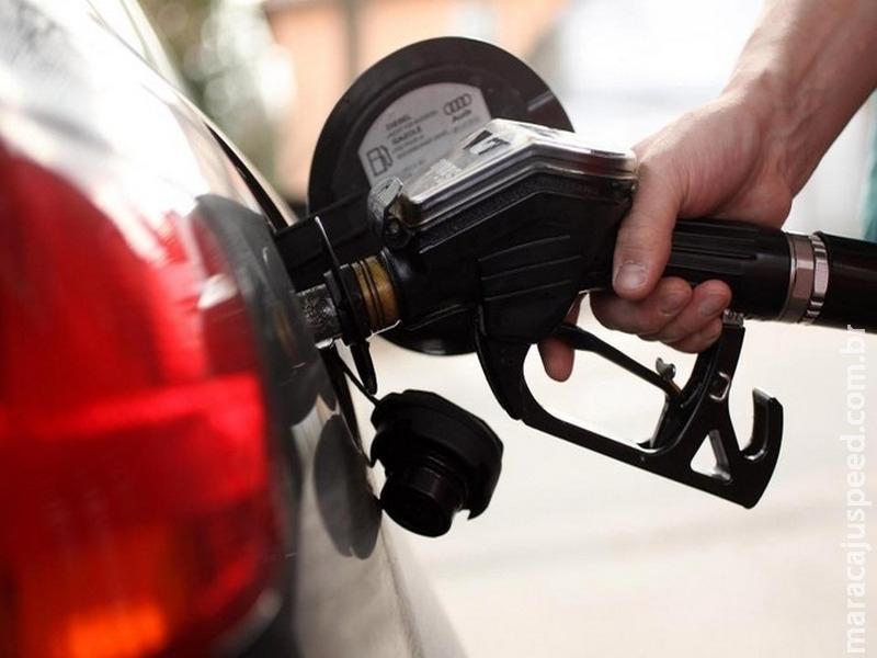 Preço da gasolina reduz 0,1% e do diesel aumenta 0,6% a partir desta quarta