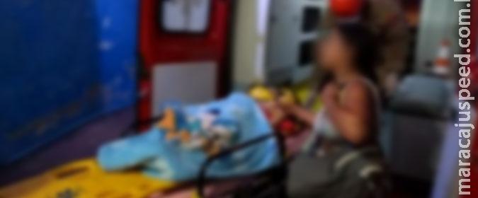 Criança de três anos cai de segundo andar de prédio e sofre traumatismo craniano