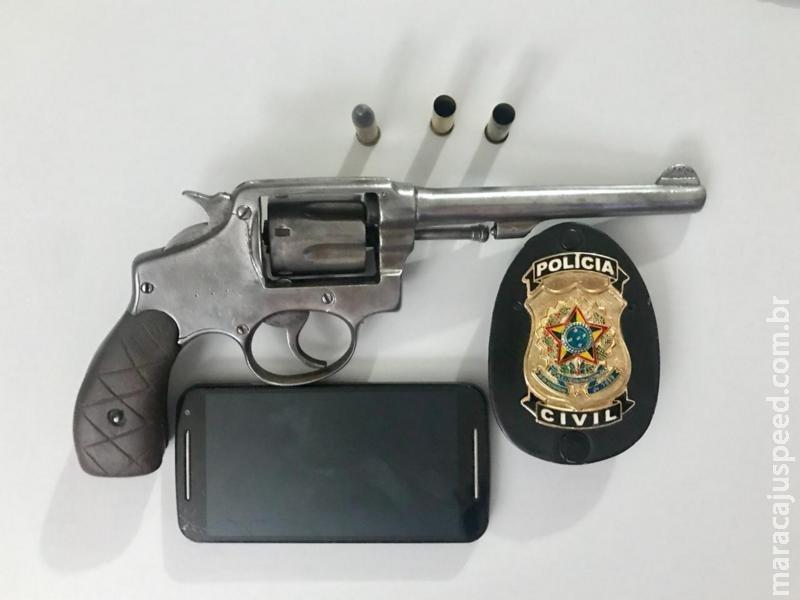 Polícia Civil de Maracaju autores de roubos e disparos de arma de fogo