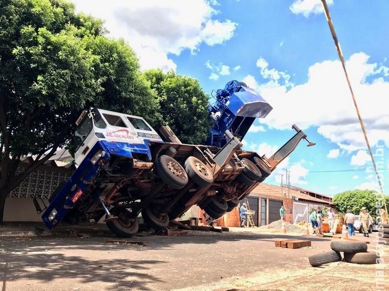 Homem que morreu em queda de rampa havia escapado de acidente com guindaste em Campo Grande