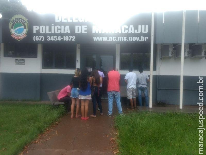 Maracaju: Proprietário de Casa de Show é detido pela Polícia Militar por vender bebida alcoólica a menores de idade e desobediência
