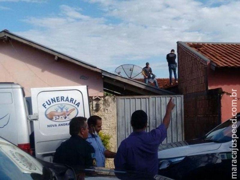 Menino de 10 anos foi assassinado e colocado em telhado, acredita delegado