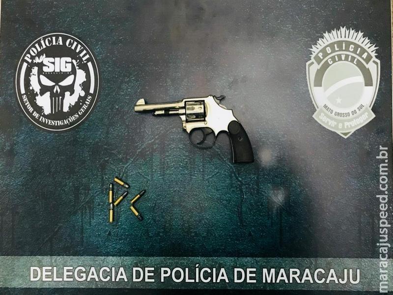 Polícia Civil de Maracaju apreende adolescente que atirou em comerciante durante assalto na Vila Juquita