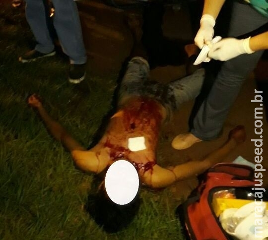 Maracaju: Adolescente de 15 anos esfaqueia outro adolescente de 17 anos no Distrito de Vista Alegre