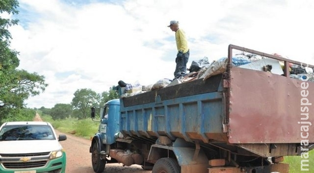 Sob suspeita, viagem de 300 km leva à suspensão de edital sobre lixo em MS
