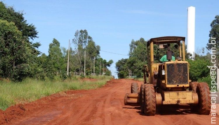 A.L dos Santos e 3 empresas vão receber R$ 20 milhões para cuidar de vias sem asfalto