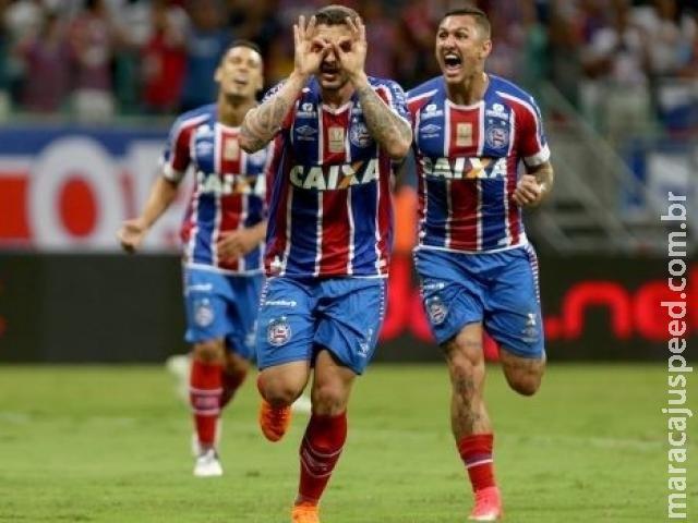 Bahia goleia o Vasco por 3 a 0 no Fonte Nova