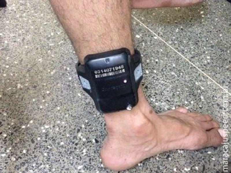Polícia Civil de Maracaju prende traficante que usava tornozeleira eletrônica