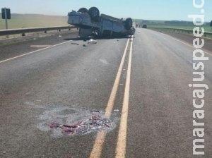 Traficante causa acidente, motorista morre e três ficam feridos