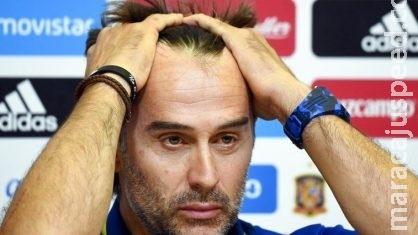 Espanha demite técnico dois dias antes da estreia na Copa