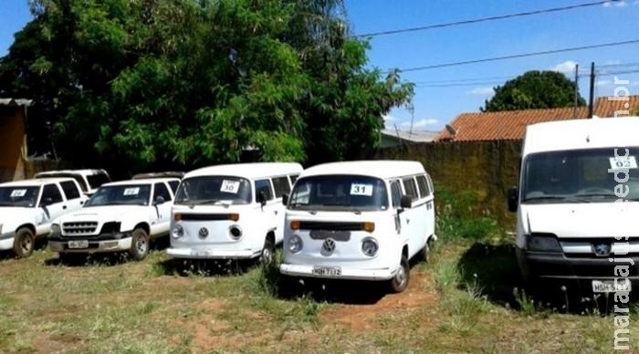 Governo de MS promove leilão de veículos e sucatas no dia 26 de junho
