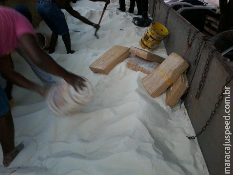 Maracaju: DOF apreende quase três toneladas de Maconha na MS-164