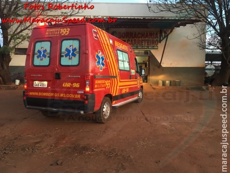 Maracaju: Homem morre em banheiro de borracharia