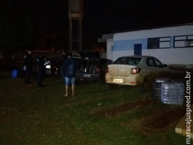 Maracaju: Polícia Militar apreende mercadorias oriundas do contrabando e descaminho