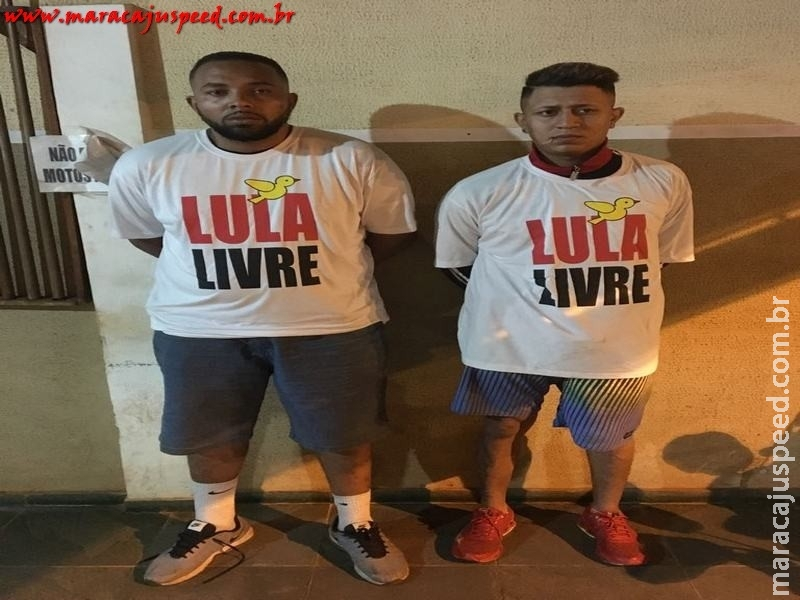"""Maracaju: Traficantes """"Lula Livre"""" são presos com veículo abarrotado de drogas"""