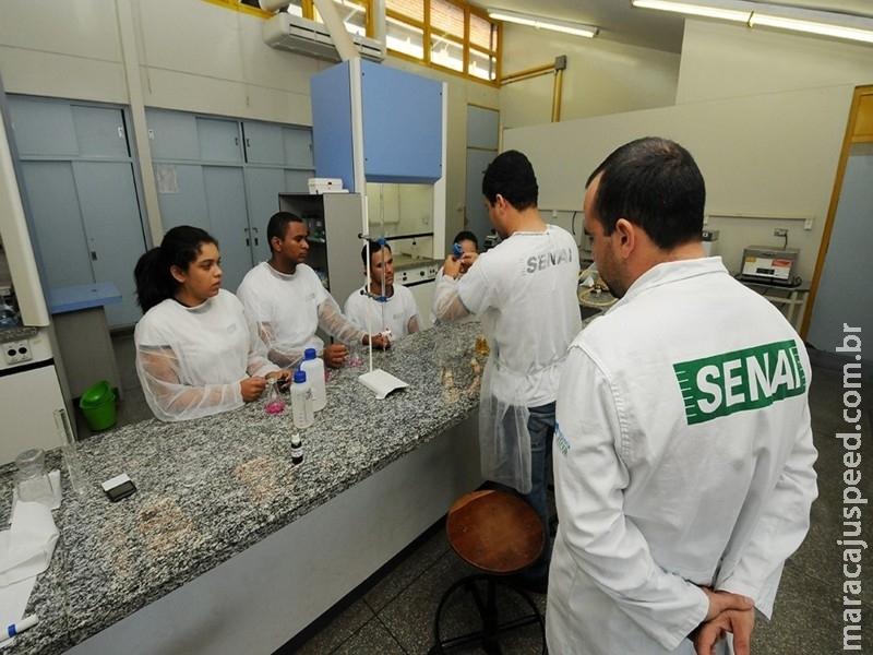 Senai está com matrículas abertas para preencher cursos técnicos em Maracaju