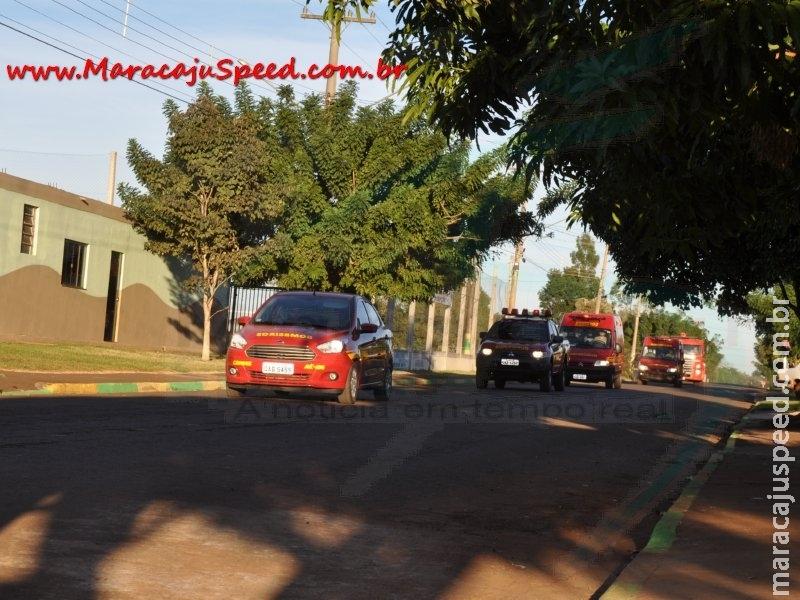 """Bombeiros de Maracaju comemoram o """"Dia do Bombeiro"""""""