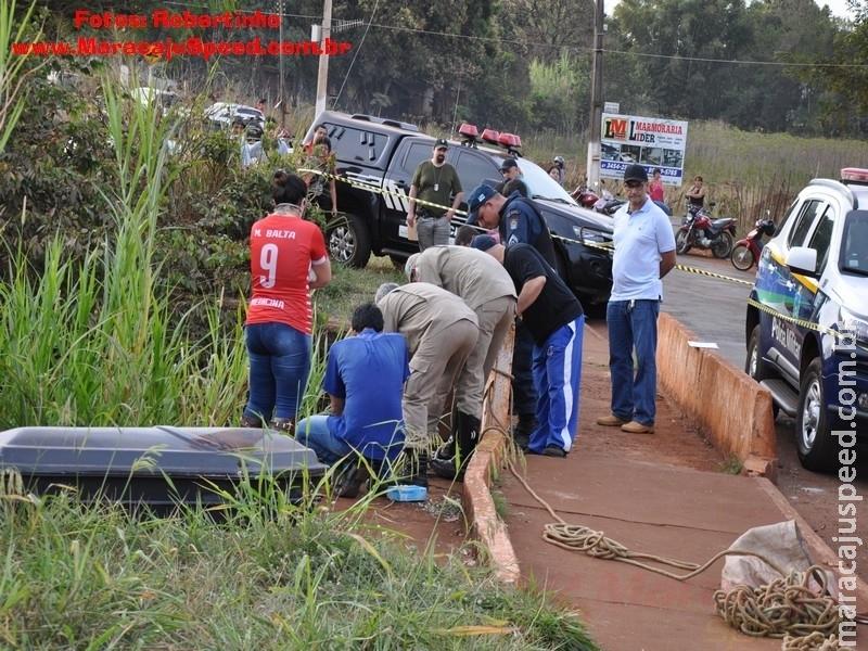 Maracaju: Confirmada a identidade do corpo de homem encontrado no Córrego Montalvão