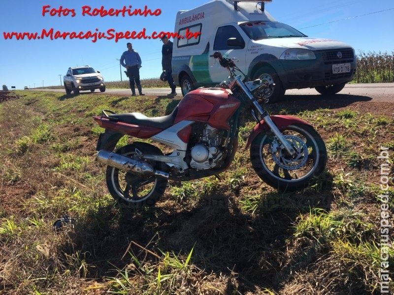 Maracaju: PMR Base Vista Alegre recupera motocicleta furtada e prende receptador em flagrante