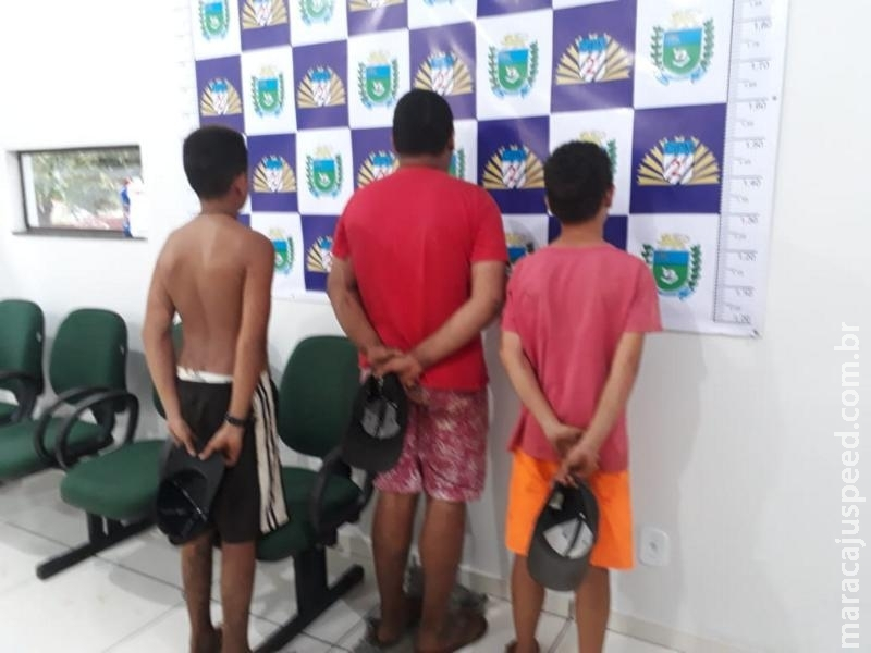 Maracaju: Pai aciona a Polícia Militar informando que seu filho teve bicicleta furtada e militares detiveram adolescentes autores